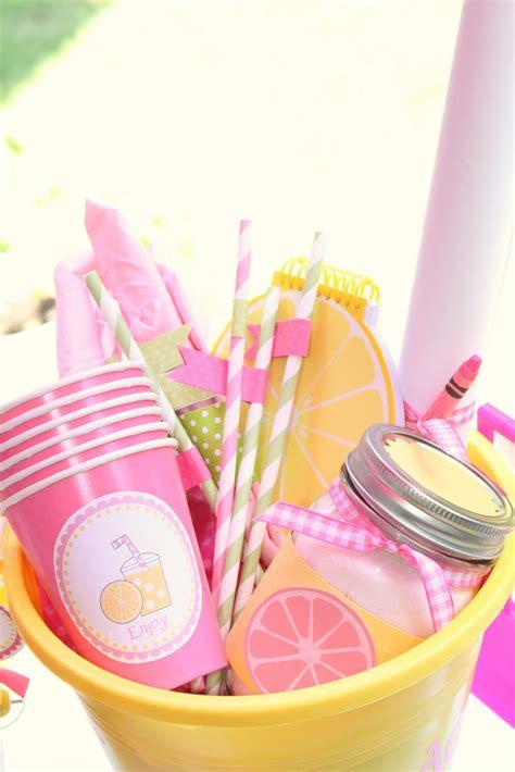 lemonade stand kit  printable  summer camp link