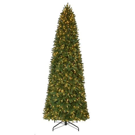 home accents sierra nevada fir tree 75 12 ft pre lit led nevada set artificial slim tree x 3 662 tips with 900