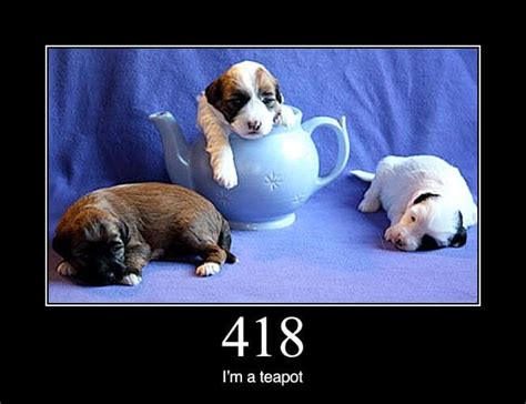 a more traditional 418 i 39 m a teapot http status dogs
