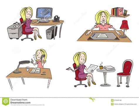 bureau de dessin bureau travaillant de femme image libre de droits image