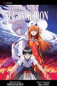 Neon Genesis Evangelion Vol 13 VIZ MANGA line Manga