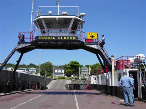 Ferry Boat Joshua Slocum by Whale Packages