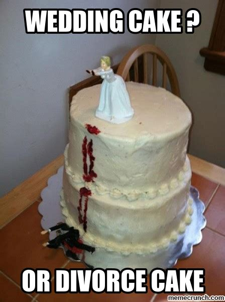 Meme Cake - wedding cake