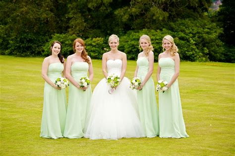 Lorna's Green And White Wedding