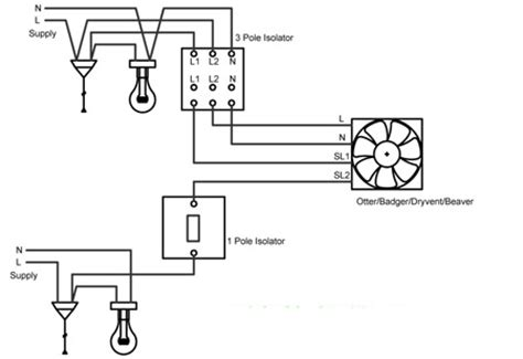 Dryvent Wiring Diagram Rhl Ventilation