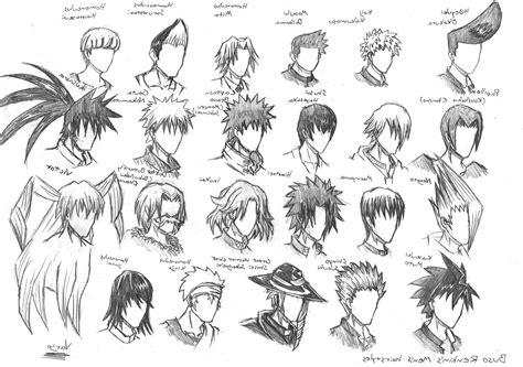 Hairstyles Anime Male   The Newest Hairstyles