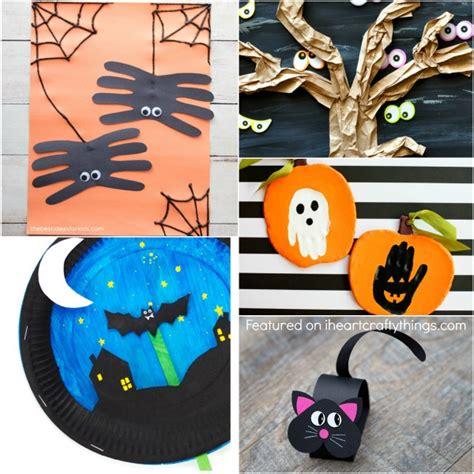 Simple Halloween Crafts Kids Will Love!  I Heart Crafty