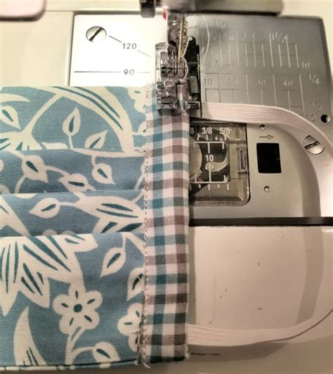 facemask  picture tutorial button counter sewing