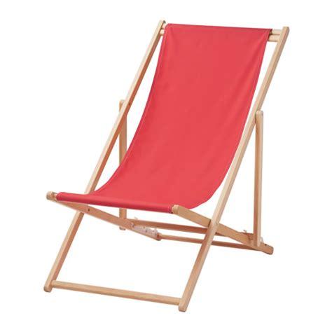 mysings 214 strandstoel opklapbaar rood ikea