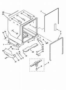 Tub And Frame Parts Diagram  U0026 Parts List For Model