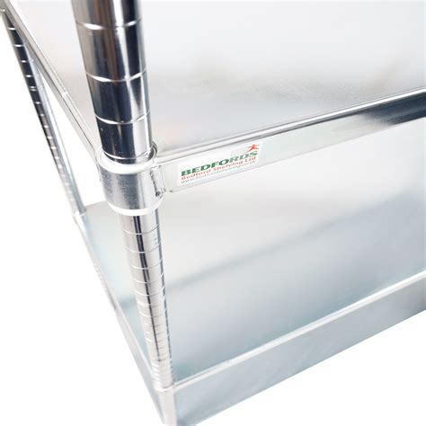 stainless steel solid kitchen shelving stainless steel quartermaster solid single shelves