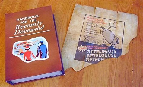 Handbook For The Recently Deceased Assembly