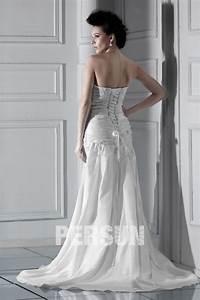 Robe De Mariée Moderne : robe de mari e moderne argent e ligne a d collet en ~ Melissatoandfro.com Idées de Décoration