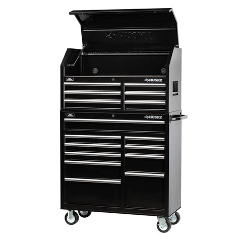 black friday tool cabinet deals husky 41 quot 16 drawer tool chest rolling tool cabinet