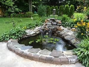 backyard and pond project redo it yourself inspirations With whirlpool garten mit bonsai schalen set