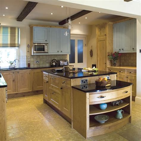Oak Farmhouse Kitchen  Kitchen Design  Decorating Ideas