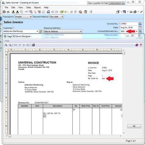 order  tab  sales creating  invoice