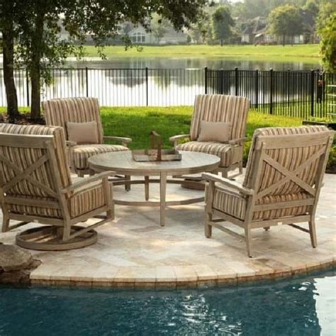 Portofino Patio Furniture Set by Portofino Chat Collection By Ebel Outdoor Furniture