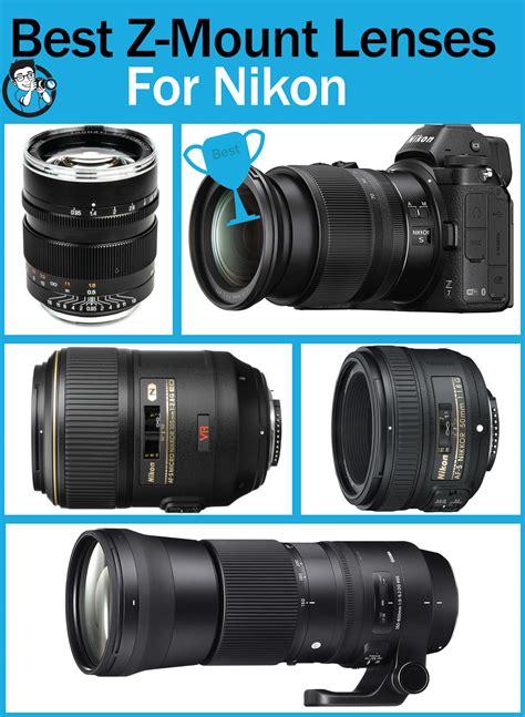 mount lenses lens nikon camera rounded making