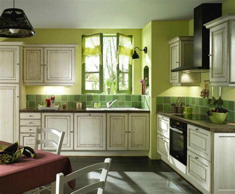 ideas de decoracion de cocinas rusticas en color verde