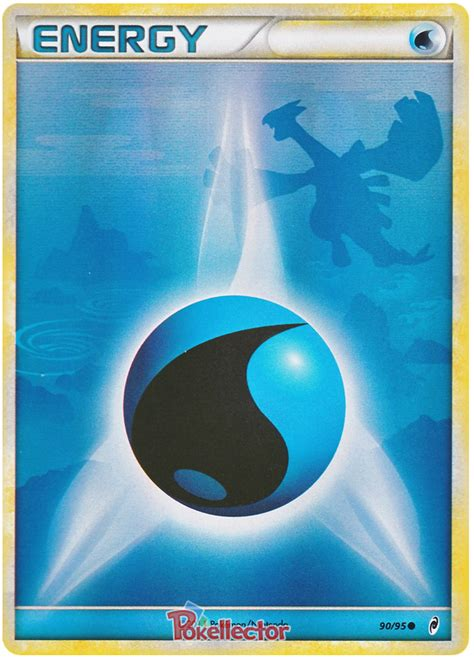 water energy call  legends  pokemon card