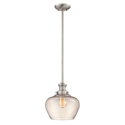 shop millennium lighting 11 in nickel industrial mini