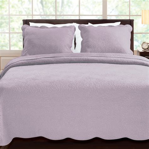 Lavender Coverlet by Purple Comforter Sets Purple Bedroom Ideas