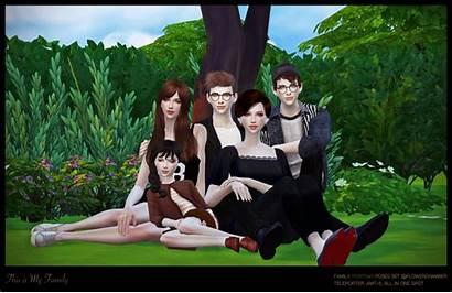 Poses Sims Portrait Flower Chamber Cc Portraits