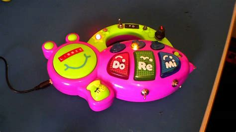 Circuit Bent Musical Bee Piano Toy Freeform Delusion