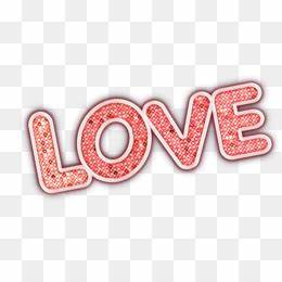 Love Text PNG Love Text Transparent Clipart Free