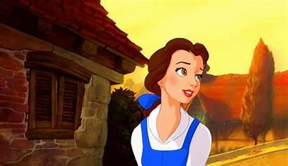 Belle Disney Princess Gifs Walt Characters Fanpop