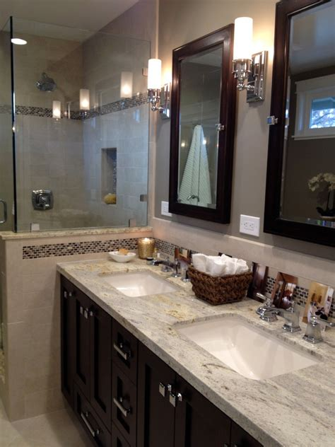 L Shaped Bathroom Vanity Bathroom Contemporary With Corner