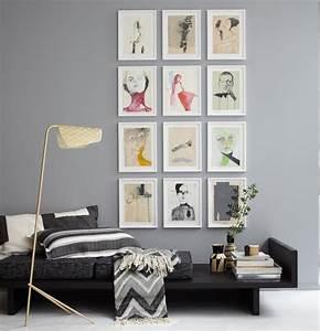 Kunst An Der Wand : mit bildern dekorieren ideen zum anordnen sch ner wohnen ~ Markanthonyermac.com Haus und Dekorationen