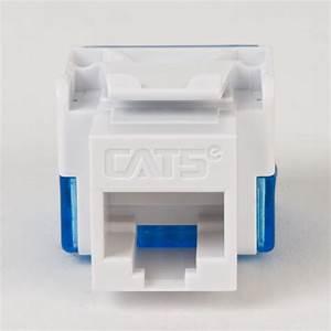 Cat5e Rj45 Keystone Jack For Ez U00ae Style