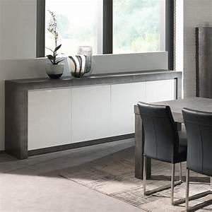 exceptionnel meuble effet beton cire 5 buffet With meuble effet beton cire