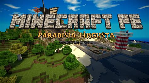 paradisia lingusta adventure map minecraft pe maps