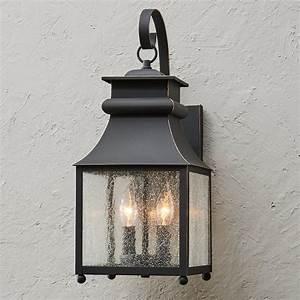 Homesteader, Seeded, Glass, Outdoor, Wall, Lantern