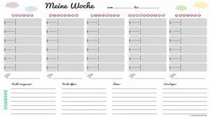 Wochenplan Haushalt Familie : wochenplan zum runterladen kalender pinterest wochenplaner kalender und strukturiert ~ Markanthonyermac.com Haus und Dekorationen