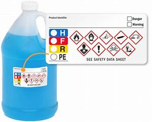 ghs hmig color bar labels for secondary containers With ghs secondary container labels