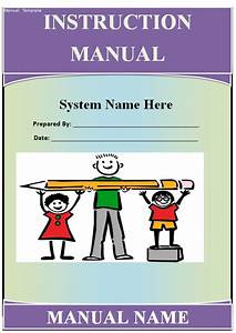 Instruction Manual Template - Guide - Help