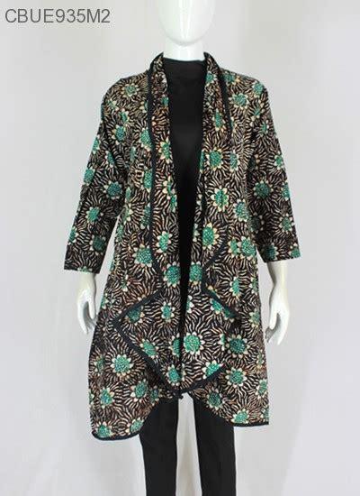 outer batik lengan motif batik wanita exclusive murah