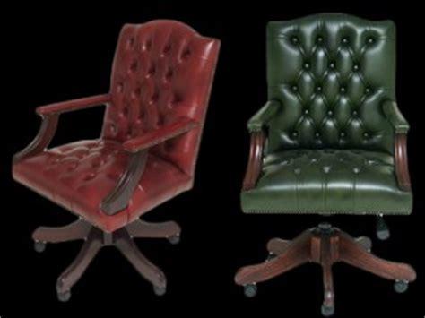 fauteuil de bureau anglais gainsborough longfield 1880