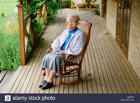 white front porch rocking chairs rocking chair stock photos rocking