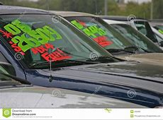New autos for sale stock photo Image of payments, loans