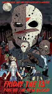 Cormac Hughes art blog: Friday the 13th Part VII The New Blood