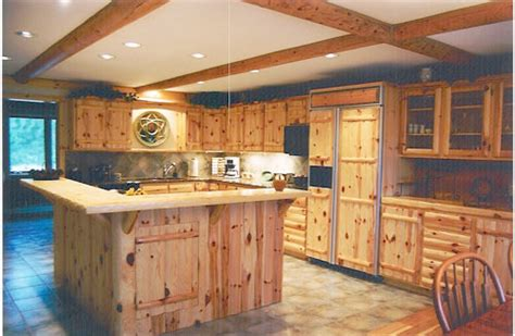 knotty pine cabinets  kitchens