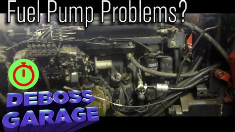 Do You To Replace The Fuel To Replace Fuel Filter On A 2004 Mazda 6 by No Start In Ih Diesel Bleed Fix