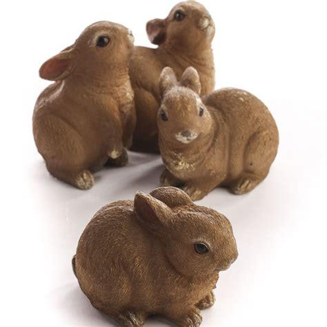darling resin bunny figurines table decor home decor