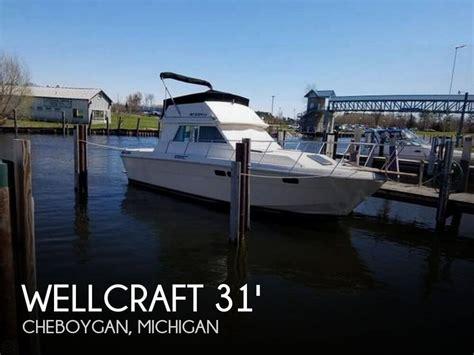 Boats For Sale In Cheboygan Mi by Canceled Wellcraft 310 Sedan Cruiser Boat In Cheboygan