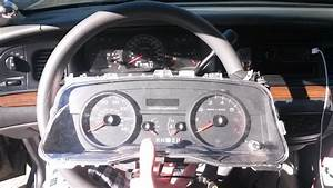 2006  Gauge Cluster Into A 2005 P71